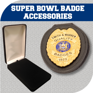 Super Bowl Badge Accessories