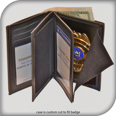 Leather Badge Wallet Www Infiniteproductsgroup Com